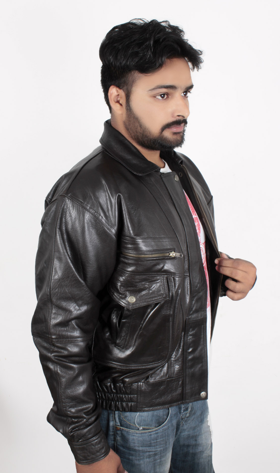 elastic leather mens jackets price in pakistan  fashion fair in pakistan at symbios pk