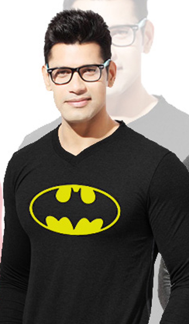 Black Batman Sweet Shirt