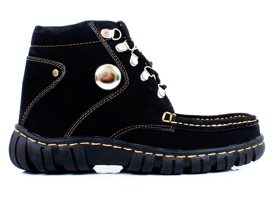 Black chestnut Casual Boots SYB-504