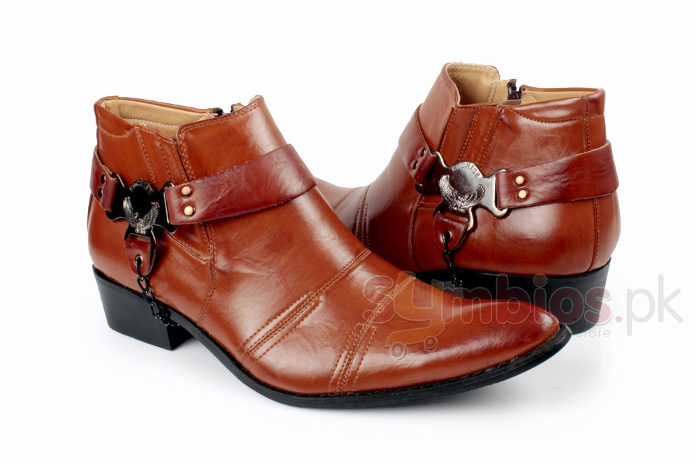 cowboy brown leather casual shoes syb 845 price in