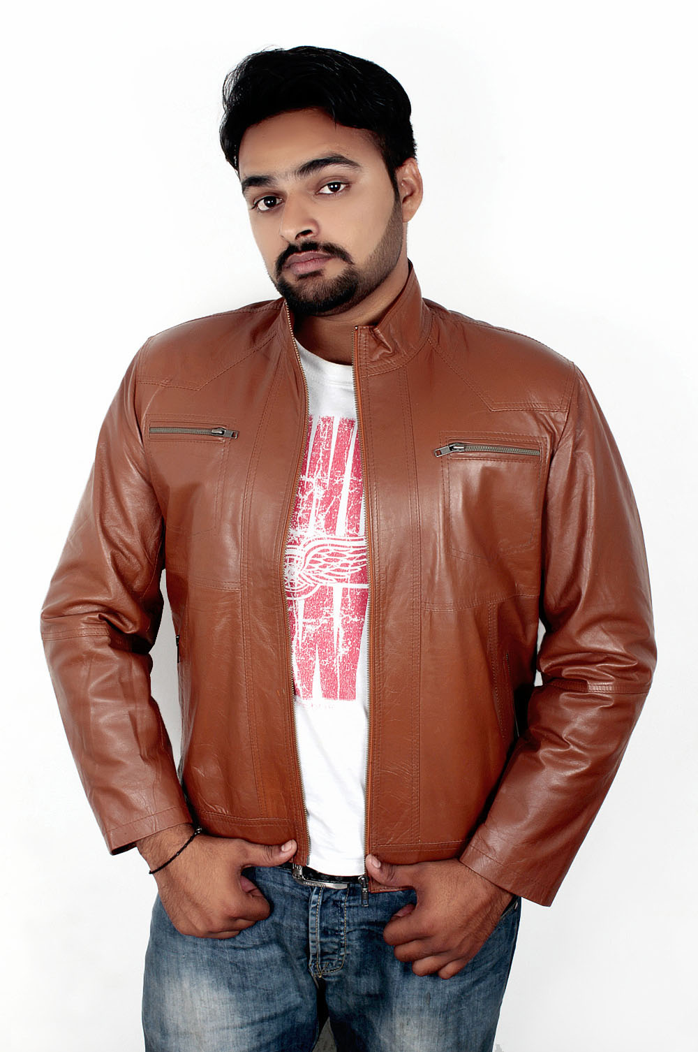 Classic Brown Leather Jacket price in Pakistan, Fashion Fair in ...