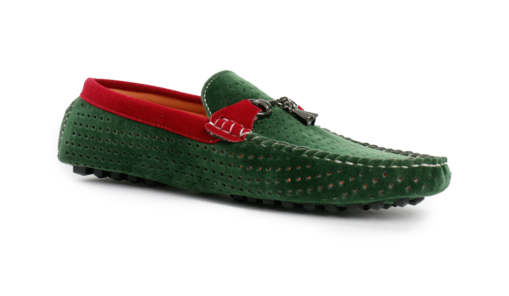 Casual Loafer Shoes Green SYB-427 Price In Pakistan At Symbios.PK