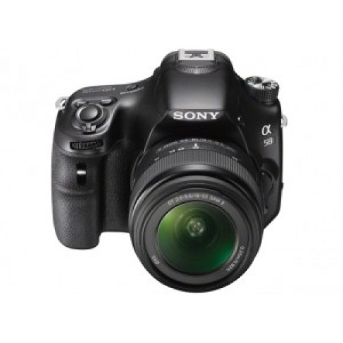 Sony SLT-A58K DSLR Camera with 18-55mm Lens