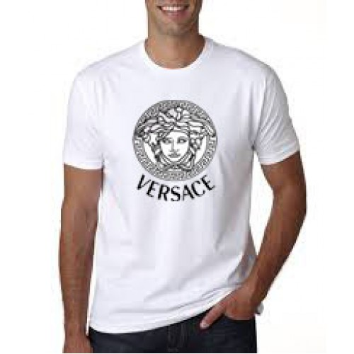 versace white t shirt price in pakistan tagtees in pakistan at symbios pk. Black Bedroom Furniture Sets. Home Design Ideas