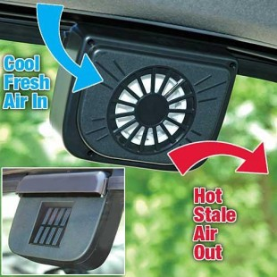 Solar Powered Car Auto Cool Air Vent Cooler Cooling Fan price in Pakistan