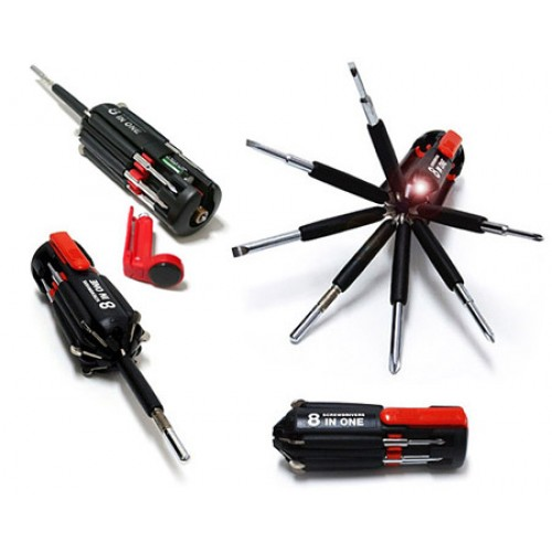 8 in 1 multi screwdriver set with led torch tp 178 price in pakistan at symbios pk. Black Bedroom Furniture Sets. Home Design Ideas