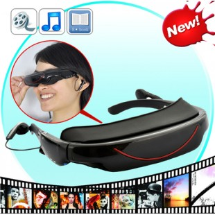 72 Inch Crystal Clear Virtual Screen Mobile Theatre Video Glasses price in Pakistan