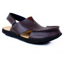 Woodland Brown Cut Casual Sandal SYS-078