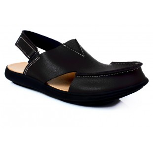 Woodland Black Cut Casual Sandal SYS-079 price in Pakistan