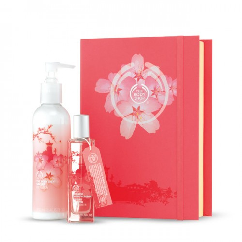 Body Shop Cherry Blossom Perfume and Lotion Gift Set price in ...