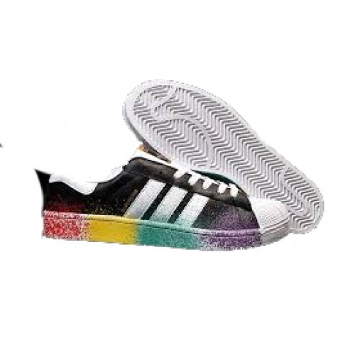 Adidas Superstar Black Splash Shoes price in Pakistan