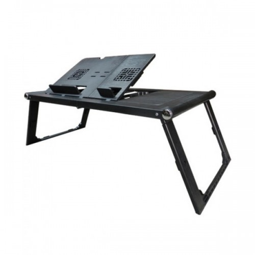 Portable Laptop Table With Fan LD 99