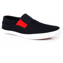 Fitfoot Black Casual Shoes SYB-1043