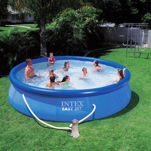Intex 54908 Pool Easy Set 15ft X With Filter Pump And Pool Ladder Price In Pakistan Intex