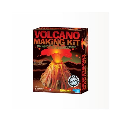 kidz labs volcano making kit instructions