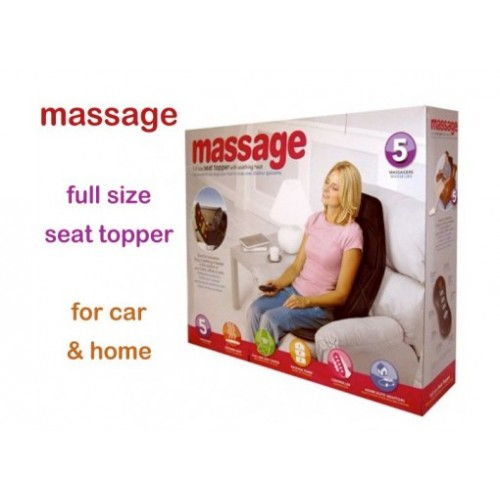 massage chair topper. massage full seat topper with soothing heat chair