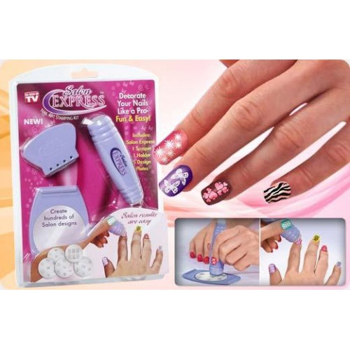 Nail Art Kit With Stamping: Nail Art Stamping Kit Price In Pakistan At Symbios.PK