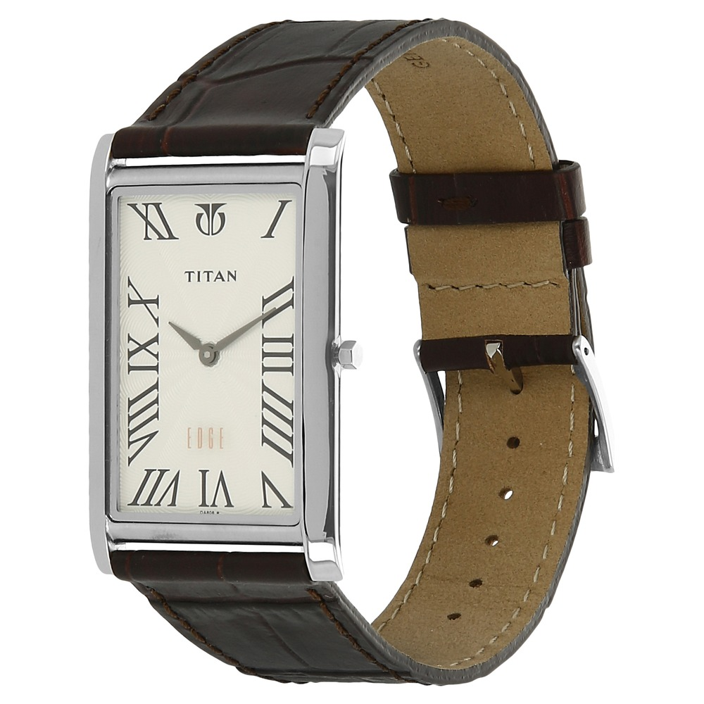for buy watches men brown titan edge strap