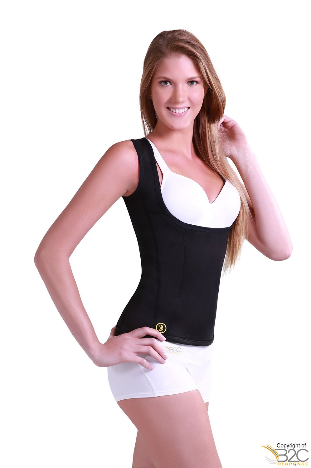 Hot Shapers Cami Hot Womens Black