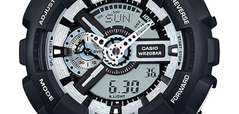 Casio Watch GA-100BW-1ADR