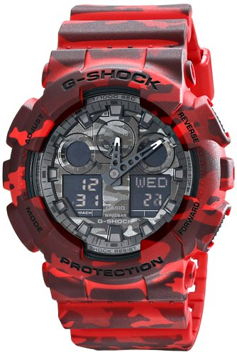Casio Watch GA-100CM-4ADR (TH)