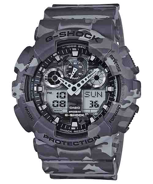 Casio Watch GA-100CM-8ADR (TH)
