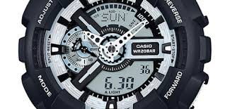 Casio Watch GA-110BW-1ADR