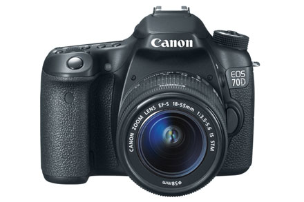 Canon 70D DLSR Camera With 18-55mm Lens