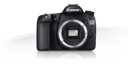 Canon 70D DLSR Camera (Body Only)