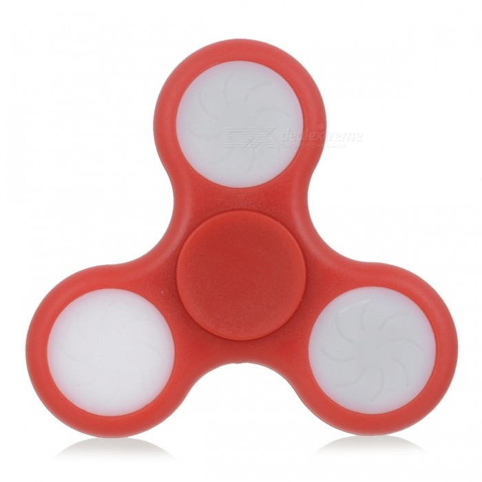 Fidget Spinner with LED - Three Sided