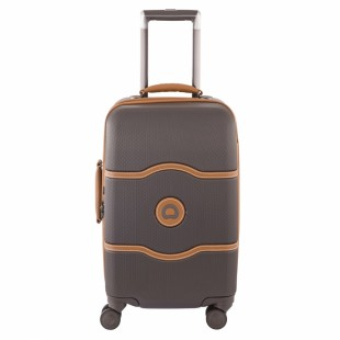 Delsey CHATELET 22 In Carry-On Suitcase Chocolate price in Pakistan