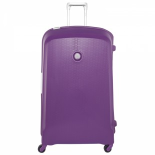 """Delsey BELFORT 4W 21"""" Suitcase Extra Large Purple price in Pakistan"""