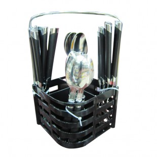 Black Style Spoon Set  24 Pcs price in Pakistan