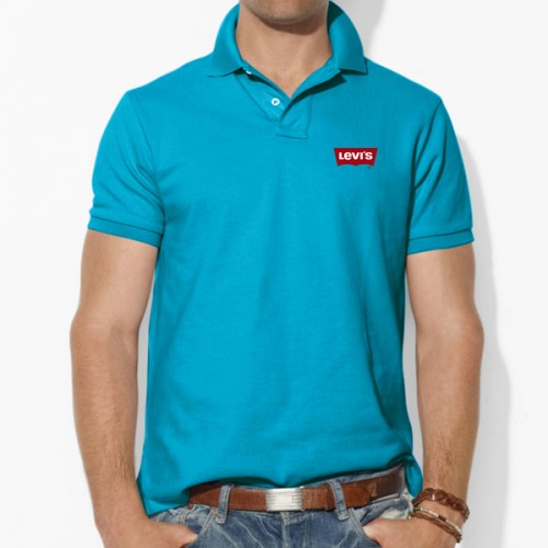 Levis Turquoise Blue Polo T-Shirt price in Pakistan 0e1113c463