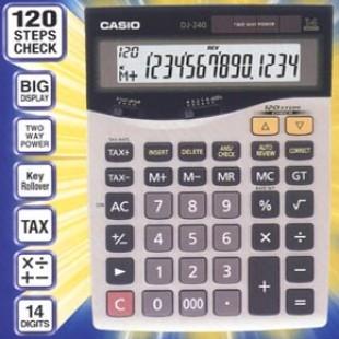 Casio DJ-240D Calculator price in Pakistan