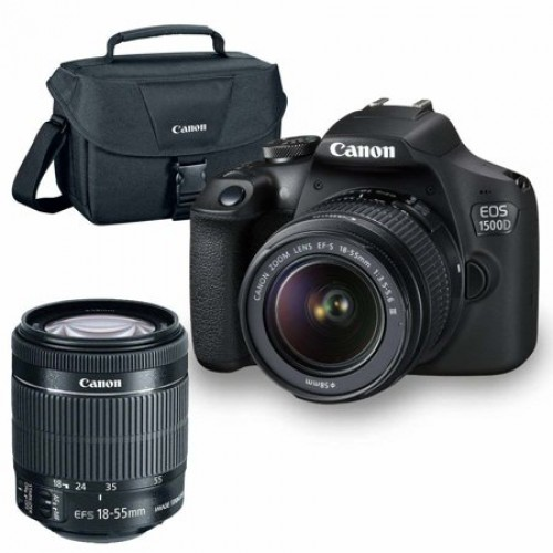 Canon EOS 1500D DSLR Camera with 18-55mm IS II Lens price in Pakistan, Canon  in Pakistan at Symbios.PK