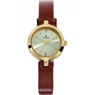 Titan Karishma Women's Watch Brown (2598YL01) price in Pakistan