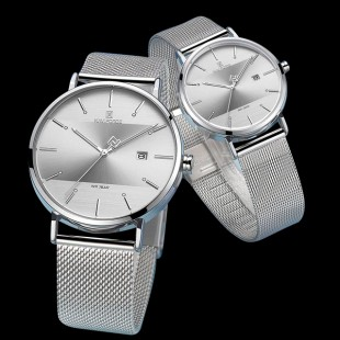 Naviforce Couple Edition Watch 2 Colours 2019 (NF-3008) price in Pakistan