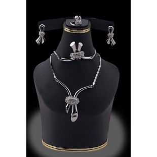 Stylish Jewelry Set silver-04 price in Pakistan