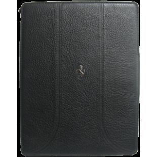 Ferrari Folio Case for iPad 2 & 3 Grain Leather Black price in Pakistan
