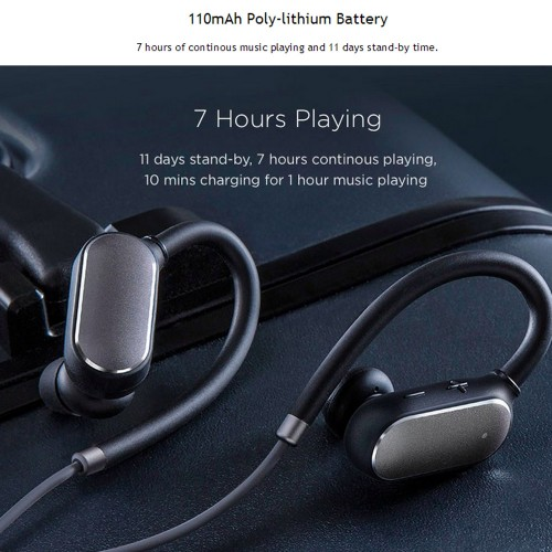 Xiaomi Mi Sports Bluetooth Earphones Black White Price In Pakistan Xiaomi Mi In Pakistan At Symbios Pk