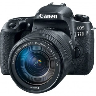 Canon EOS 77D DSLR Camera With 18-135mm STM Lens - MBM Warranty price in Pakistan