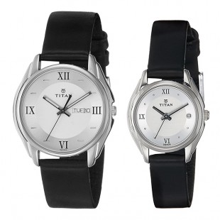 Titan Bandhan Analog Silver Dial Couple's Watch – 15782489SL03 price in Pakistan