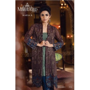 Maria.B MBROIDERED Collection (Unstitched) BD: 5 price in Pakistan