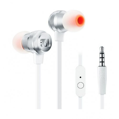 5c63026da8b JBL T280A Stereo In-Ear Headphones with Flat Cable Silver price in Pakistan