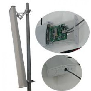 2.3-2.7GHz 15dBi Dual Polarization mimo wifi outdoor Sector Antenna price in Pakistan
