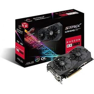 Asus ROG Strix AMD Radeon RX 570 OC Edition 4GB Graphics Card (ROG-STRIX-RX570-O4G) price in Pakistan