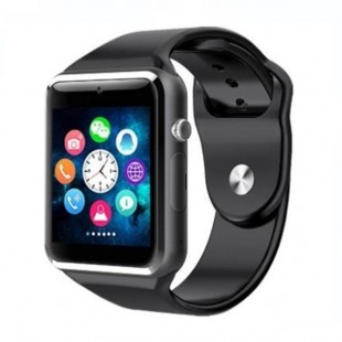 Smart 2030 Smart Watch Silicone Band For Android & iOS,Black - W008 price in Pakistan