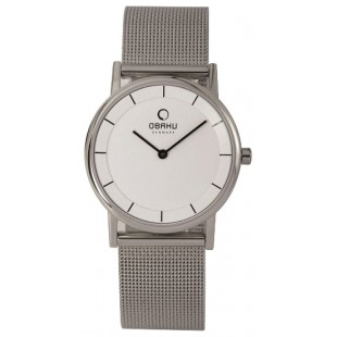 Obaku Women's Wristwatch Silver V143LCWMC price in Pakistan