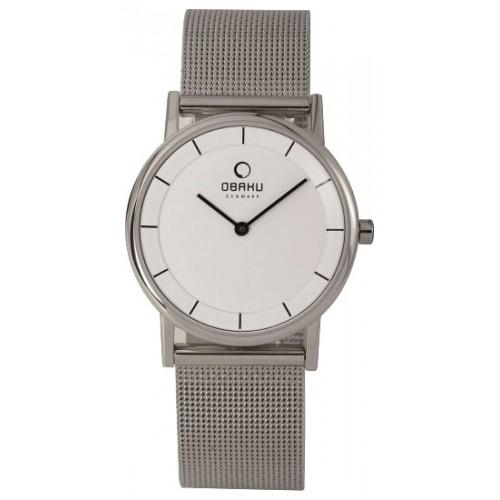 Image result for Obaku Women's Wristwatch Silver V143LCWMC